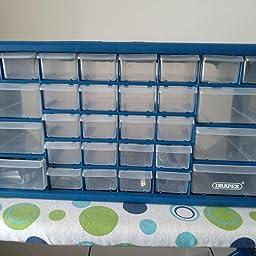 Draper 12015 - Organizador de herramientas con 30 cajones ...