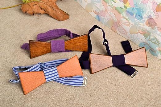 3 pajaritas modernas artesanales corbatas de mono accesorios para ...