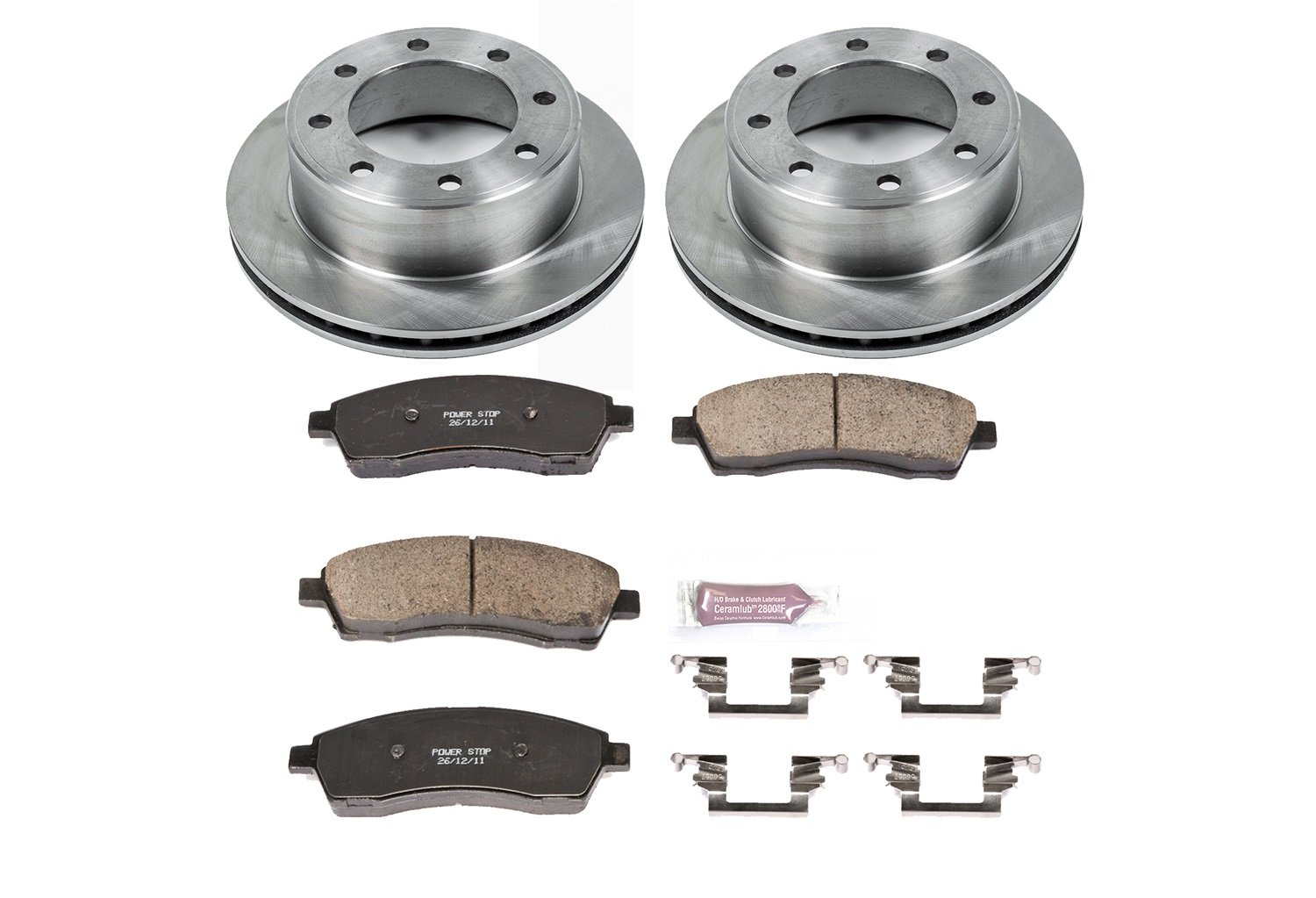 Autospecialty KOE1890 1-Click OE Replacement Brake Kit