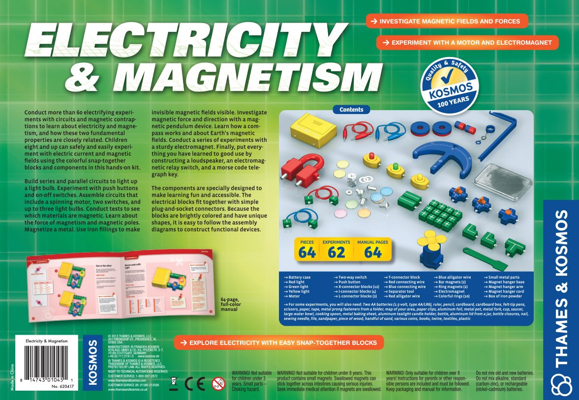 Logic Circuit Of Copy Machine Digital Electronics Life Learns Us Thames Kosmos Electricity And Magnetism Toys Games