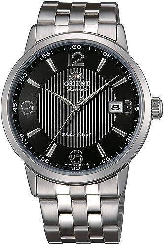 Orient Reloj Analógico para Hombre de Automático con Correa en Acero Inoxidable FER2700BB0: Amazon.es: Relojes