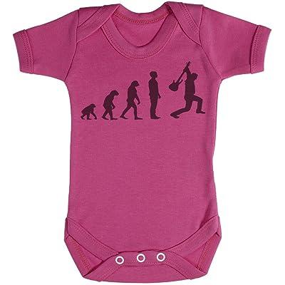 Baby Buddha Evolution To A Rockstar Body bébé - Gilet bébé - 3-6 mois Rose