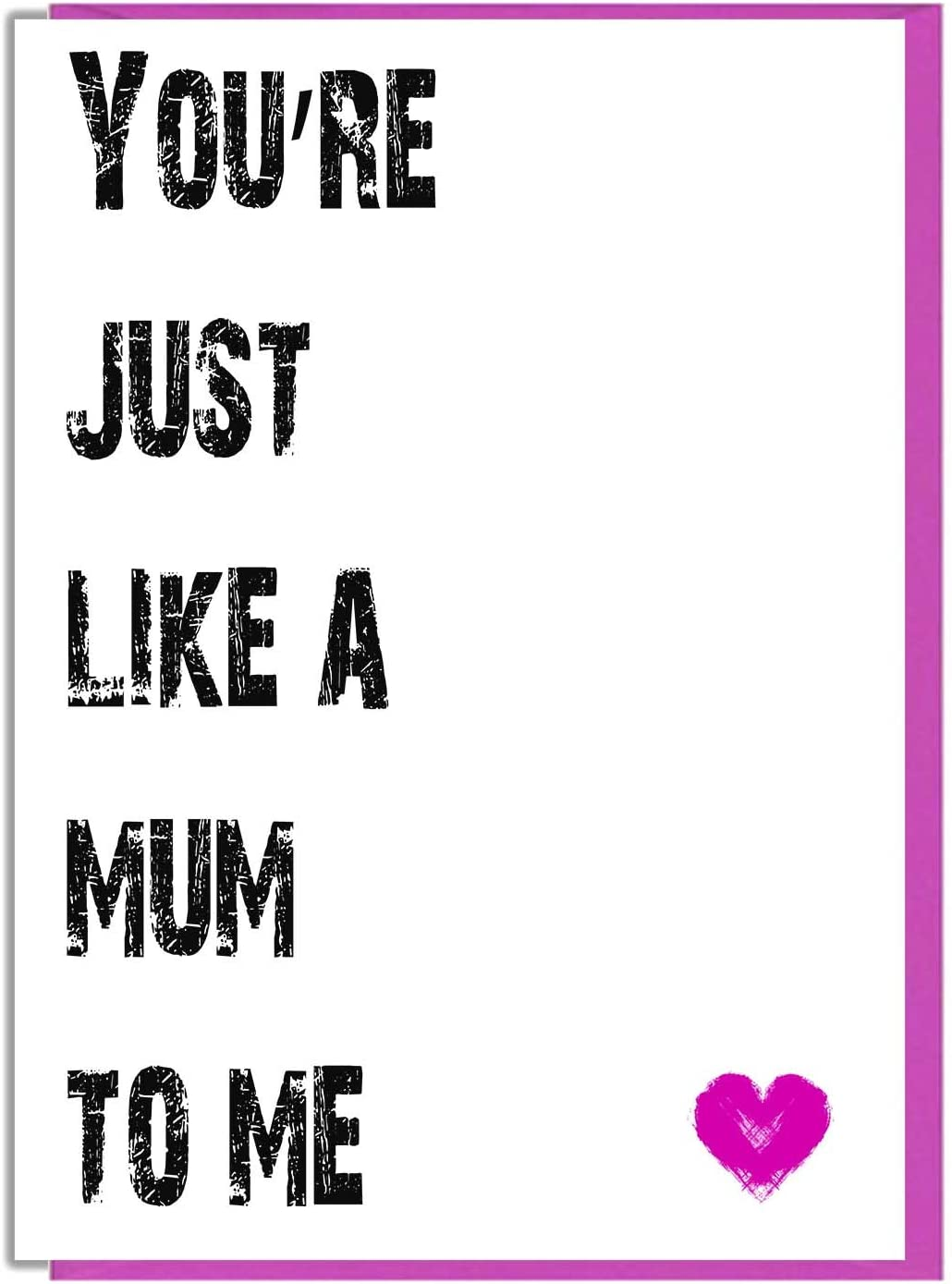 Just For You Step Mum Mother/'s Day Card