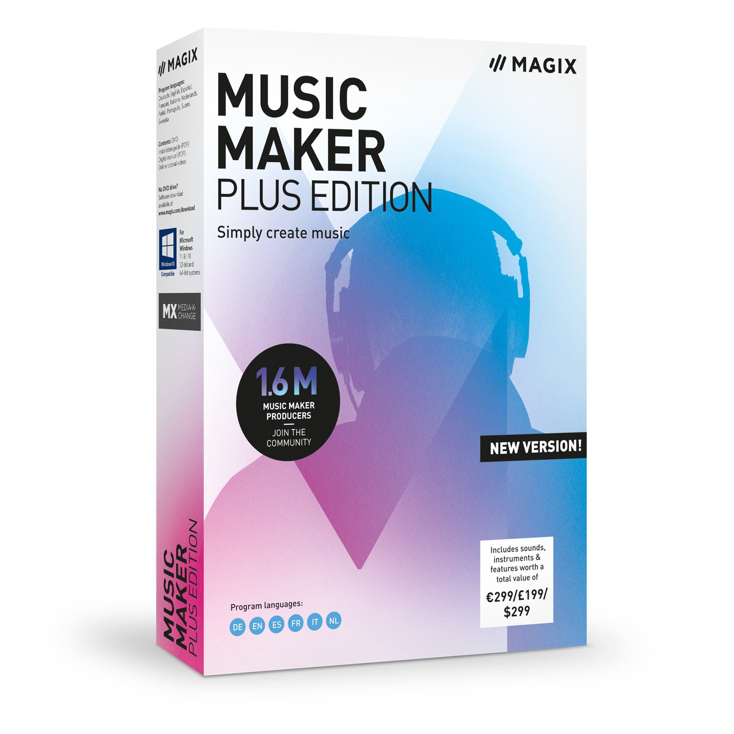 front facing magix music maker 2019