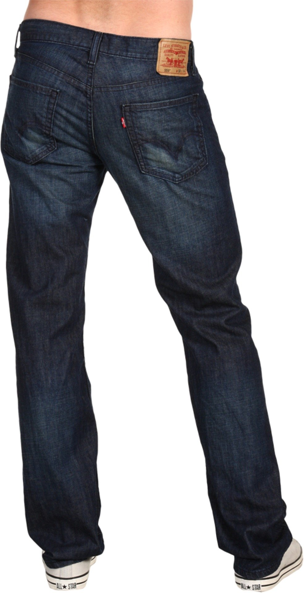 Levi's Men's 559 Relaxed Straight Fit Jean - 40W x 30L - Andi