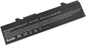 Futurebatt New Laptop Battery for Dell Latitude E5410 E5500 E5400 E5510 Series, fits P/N KM742 WU841 T749D - 18 Months Warranty [Li-ion 6-Cell]