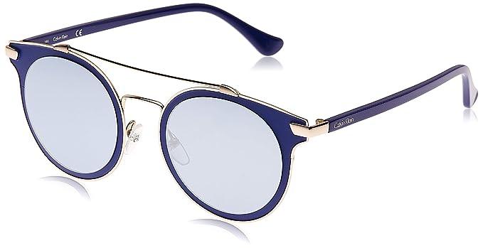 Calvin Klein 205W39nyc Ck2149S 412 50 Gafas de sol, Blue ...