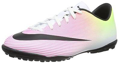 Nike Youth MercurialX Victory V Turf Shoes [White] (3Y)