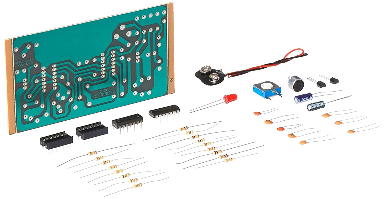 Elenco Sound Activated Switch Soldering Kit Amazoncom Snap Circuits Electronics Discovery Toys Required Games