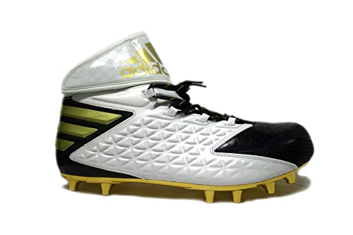 premium selection 80605 adc82 Adidas Men s SM Freak High Wide 4E Football Cleats (18 Wide, Cool Navy