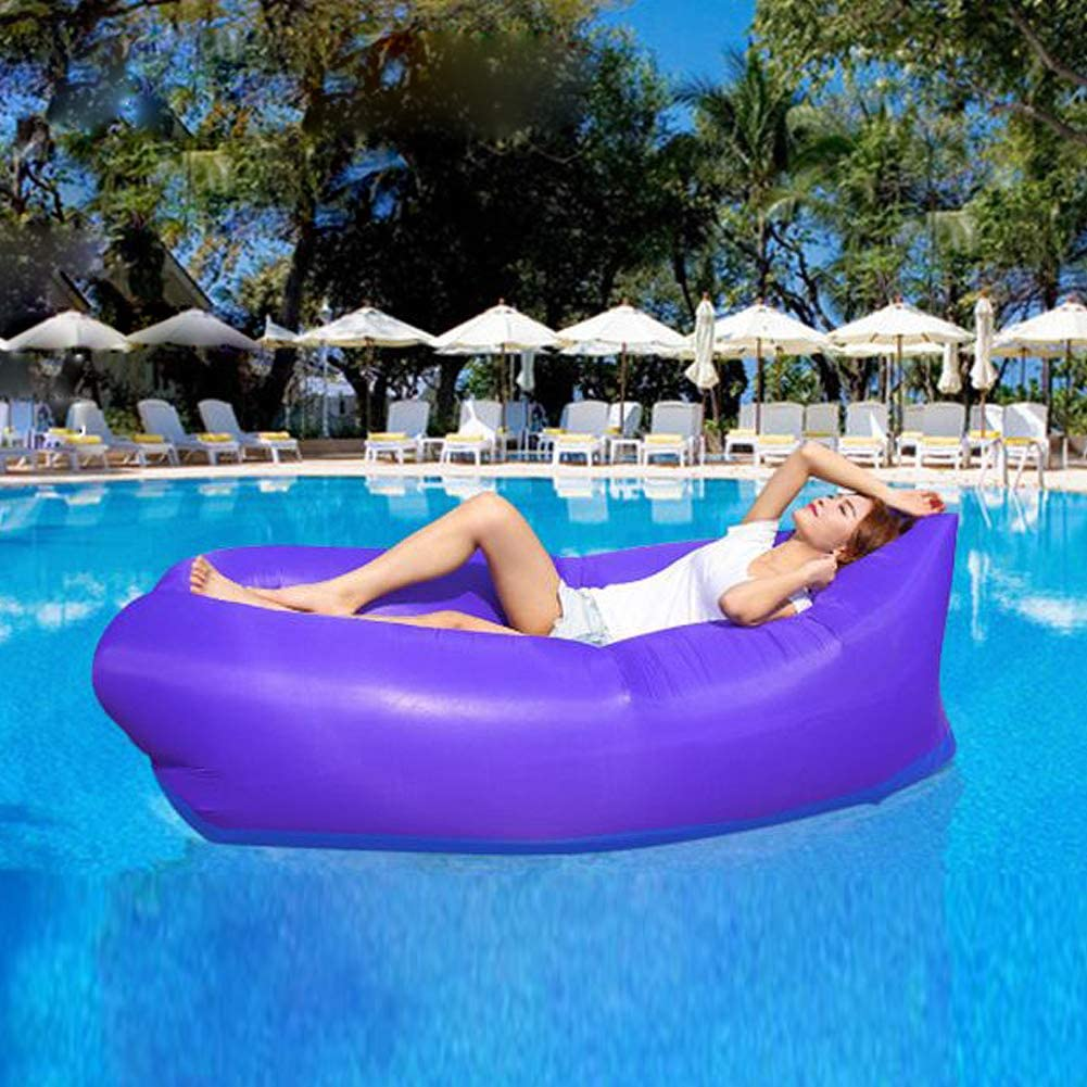 Picnics SIEMOO Inflatable/Sofa Outdoor/Portable Water Proof/& Anti-Air Leaking Lounger/Air/Sofa/Hammock Chair for/Pool Beach,/Parties Travelling,/Camping,/Hiking