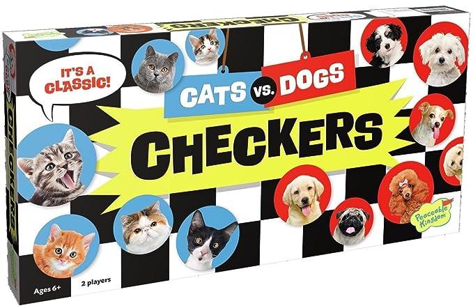 Peaceable Kingdom CHK3 gatos VS perros damas: Amazon.es: Ropa y accesorios