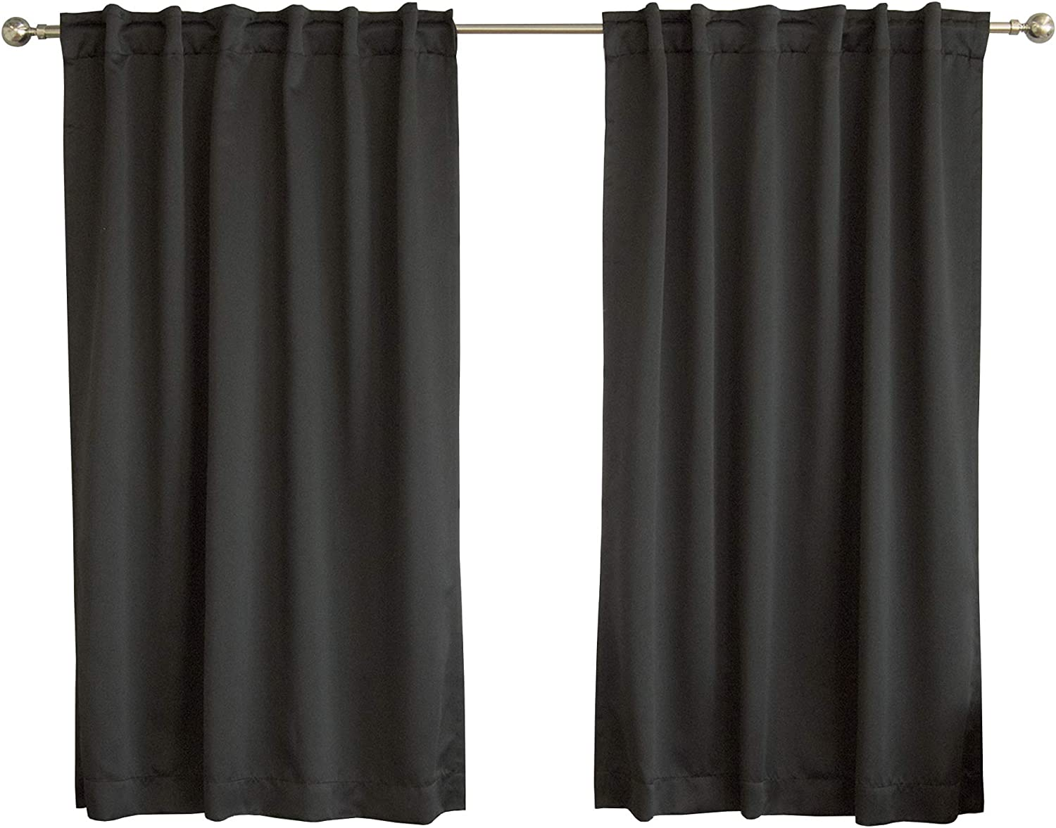 Amazon Com Best Home Fashion Basic Thermal Insulated Blackout