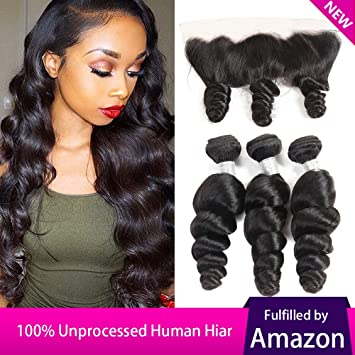 Loose peruvian wave hairstyles photo