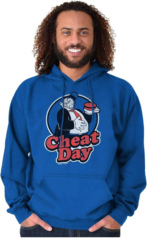 Popeye WIMPY Licensed Adult Sweatshirt Hoodie