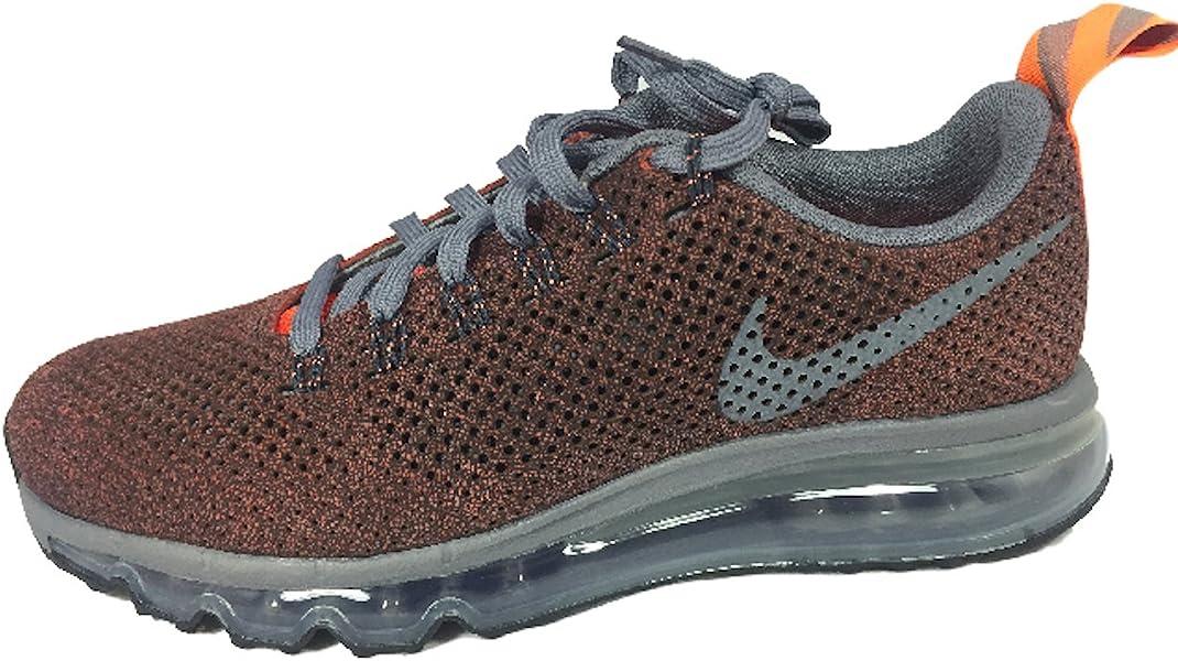 07f199ba3419 Men Nike Air Max Waffle Skin Burgundy grey orange