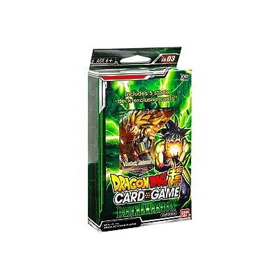 Dragon Ball Z Super The Dark Invasion Starter Deck Series 3 Cross Worlds: Toys & Games