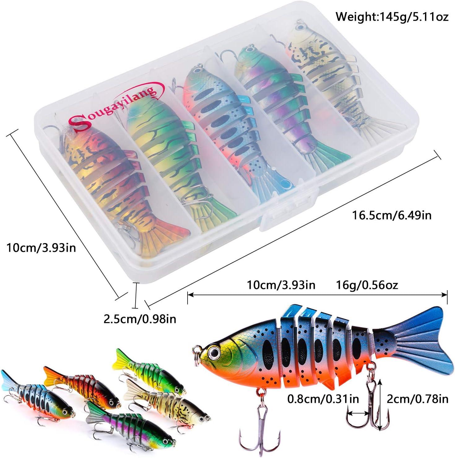 Pack of 5 Carp 6 inch Baiting Needles Pike Fishing Predator