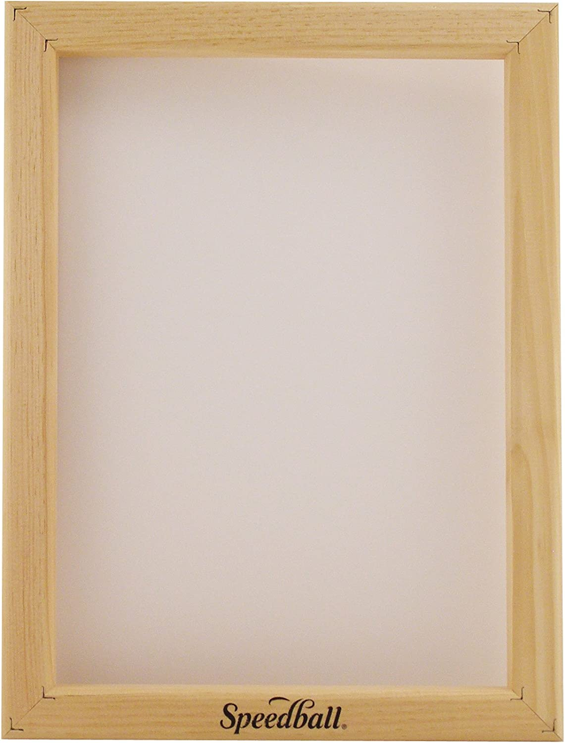 Speedball 110 Monofilament Printing Screen, 16-Inch-by-20-Inch