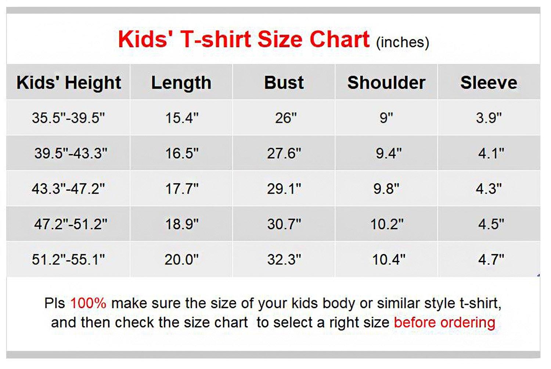 "VIPbuy Kid Girls' Short Sleeve T-Shirt Magic Reversible Sequins Letter Print Tee Tops (Height: 47.2""-51.2"", Black) by VIPbuy (Image #1)"