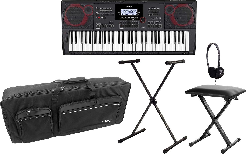 Casio CT-X5000 MIDI - Juego de teclado MIDI (compacto, 61 ...