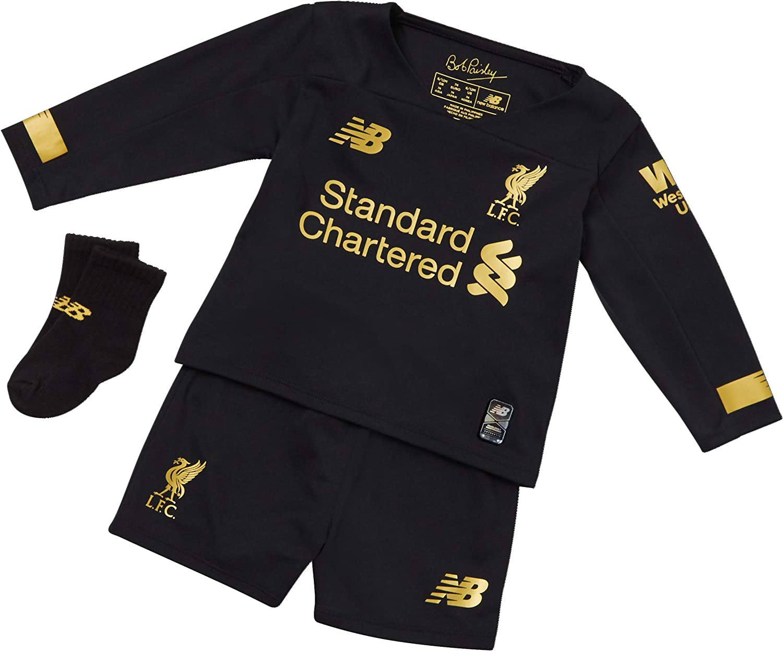 New Balance Baby Kids Boys Liverpool Home Kit 2019 2020 Domestic Minikits
