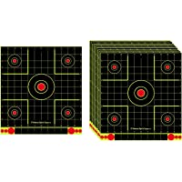 F Fityle 10x 12'' Paper Target Hunting Self-Adhesive Splatter Targets Sheets