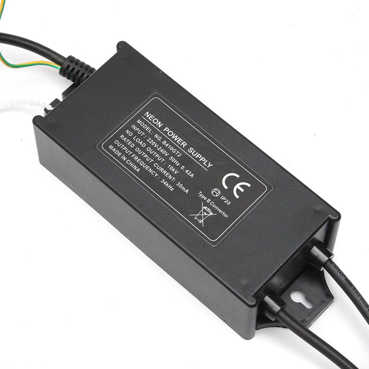 Hillhead 10000V 10KV 30mA 100W 10M elektronische Neon-Transformator-Gleichrichter-Stromversorgung (Farbe   (Farbe  Colour  schwarz-Größe  160  73  47mm) 4819ef