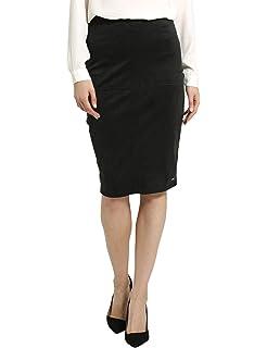 Berydale Falda tubo de mujer de estilo clásico, Negro, 34 (XS ...