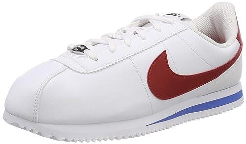 Nike Cortez Basic SL (GS), Zapatillas de Deporte para Mujer, (Blanco 904764 103), 36.5 EU: Amazon.es: Zapatos y complementos