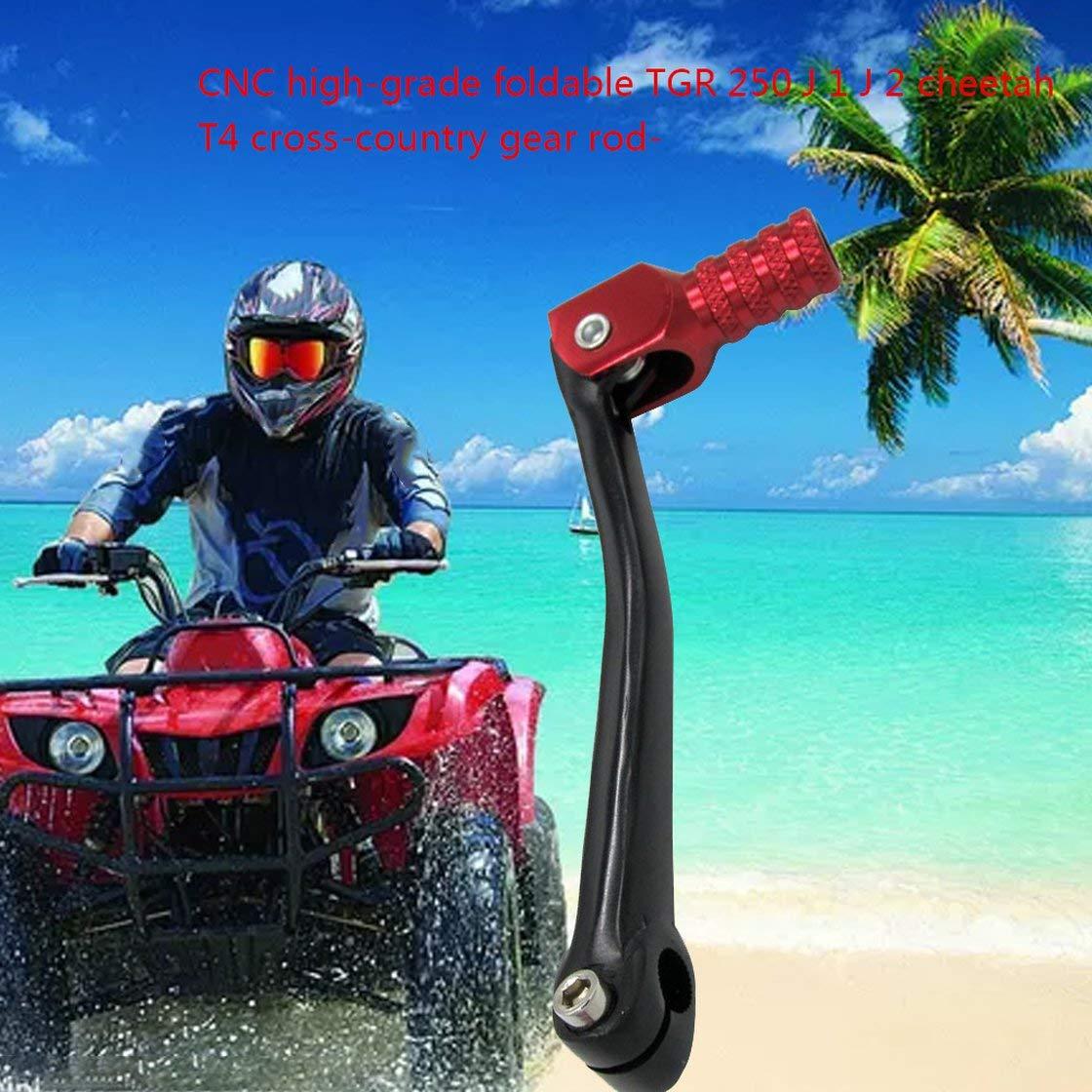 Universal ATV 2CNC de alto grado plegable TGR 250 palanca de cambios para 50cc 70cc 90cc 110cc Dirt Bike Pit Bike