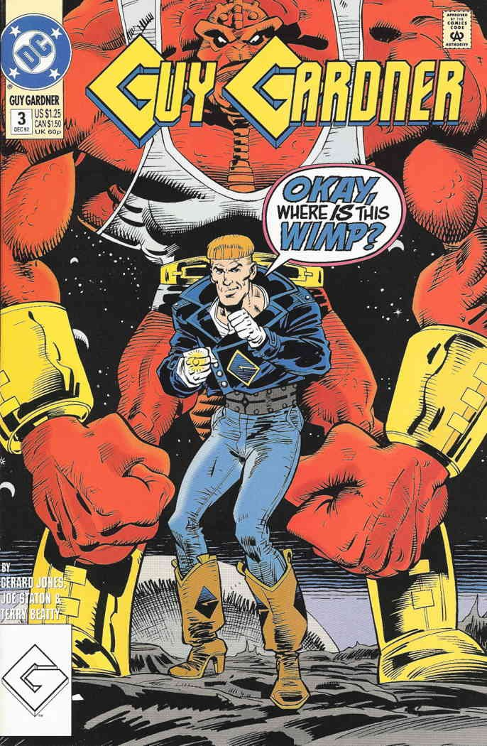 Guy Gardner #3 VF ; DC comic book