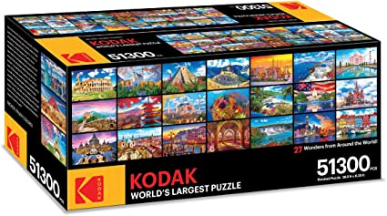 United States of America 100 Piece Puzzle by Round World Products United