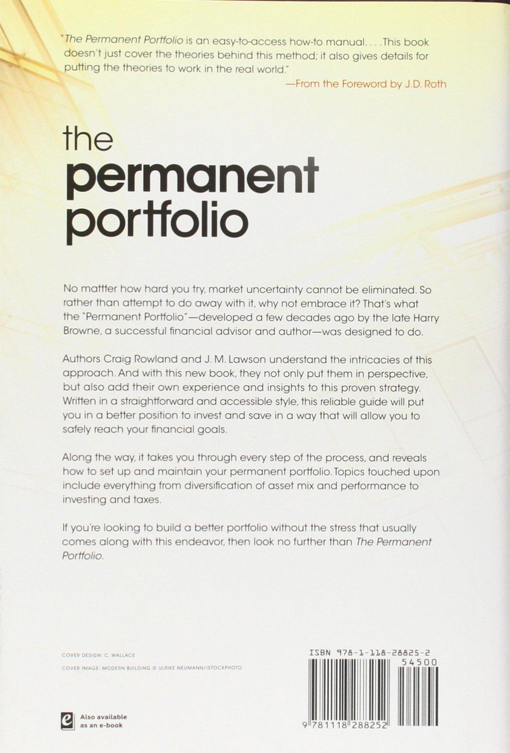 Harry Browne Permanent Portfolio Download
