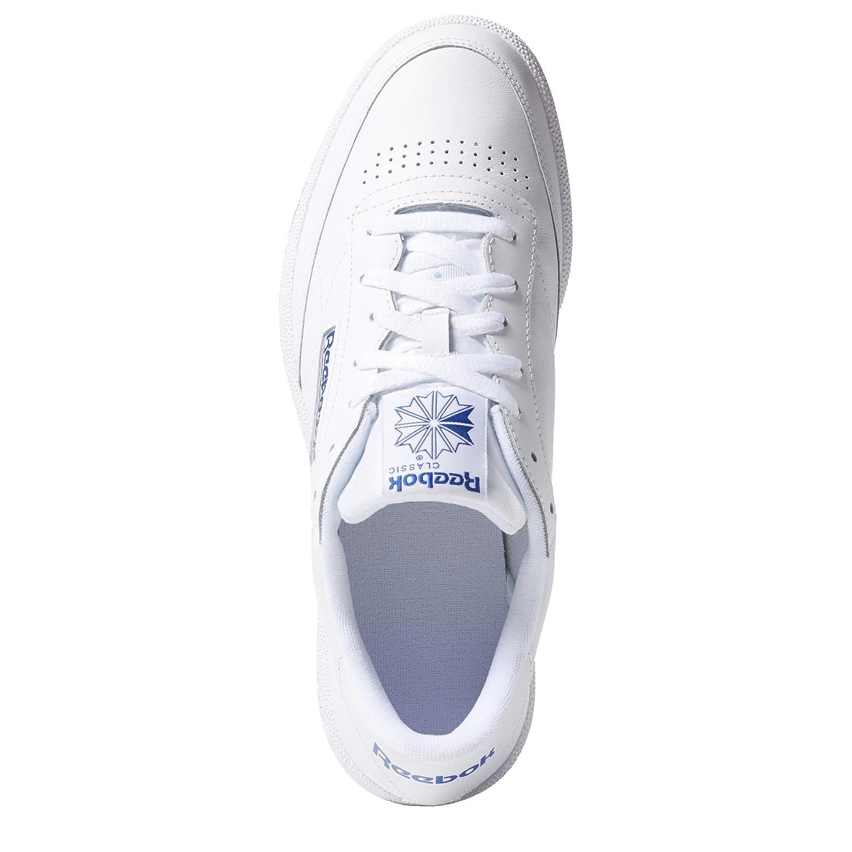 El Reebok C White Discount Club 85 Sneakers Mens Black
