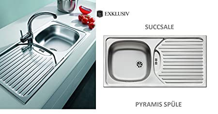 Marvelous High Quality Edelstahs Pyramis Kitchen Sink Sink Model Ca Interior Design Ideas Apansoteloinfo