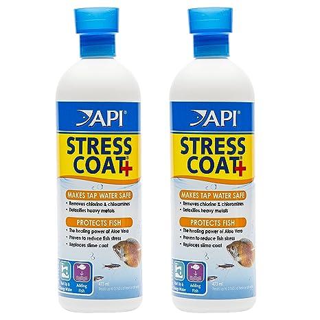 64 Oz Aquarium Pharmaceuticals Stress Coat For All Fish