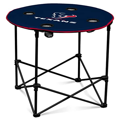 840dc928c1f Amazon.com   Arizona Cardinals Collapsible Round Table with 4 Cup Holders  and Carry Bag   Sports   Outdoors