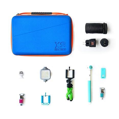 Xsories | Kit de Accesorios 8 en 1 para Smartphones iPhone/Samsung ...