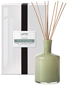 Lafco Reed Diffuser, Living Room Fresh Cut Gardenia, 15 Fl Oz