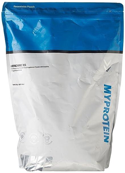 MyProtein Hurricane XS Proteínas, Sabor Plátano - 2500 gr