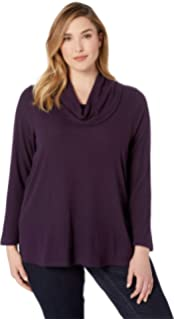 befe204a874 Karen Kane Plus Womens Plus Size Flare Sleeve Cowl Neck Top at ...