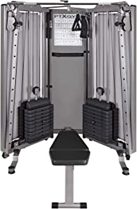 HCI Fitness PTX Gym Folding Functional Trainer Compact Home Gym