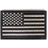 """USA Morale American Flag Patch with Velcro by Backwoods Barnaby (2"""" x 3"""")"""