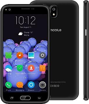 Telefonos 4g Baratos,10Pcs 5.5 Pulgadas 16GB Doble Sim Android 7,0 5MP Cámara 2800mAh Batería 1.3GHz Quad Core Movil Libres Smartphone V Mobile J5 (Negro): Amazon.es: Electrónica