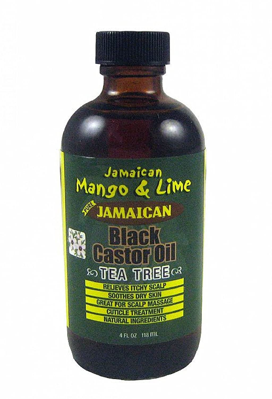 Jam. Mango & Lime Black Castor Oil (Tea Tree) 4oz Universal Beauty Products Inc. JM2289
