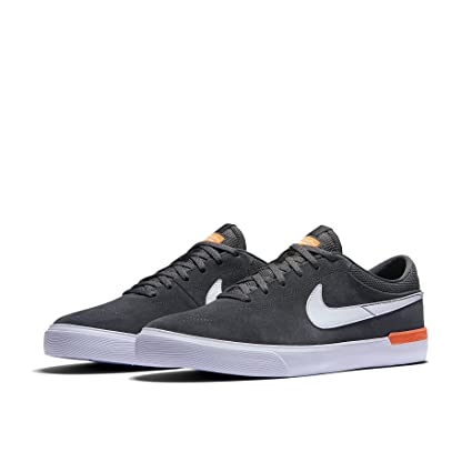dde09843db0 Nike SB Hypervulc Eric Koston Anthracite Clay Orange White Skate Shoes-Men  8.0