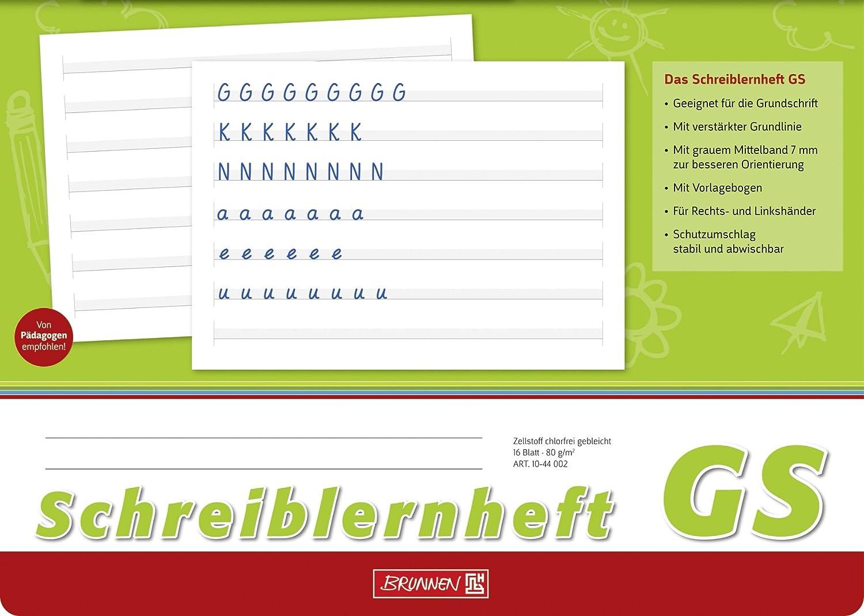 Brunnen Schreiblernheft (30 Hefte, Lineatur VA)  Lineatur GS