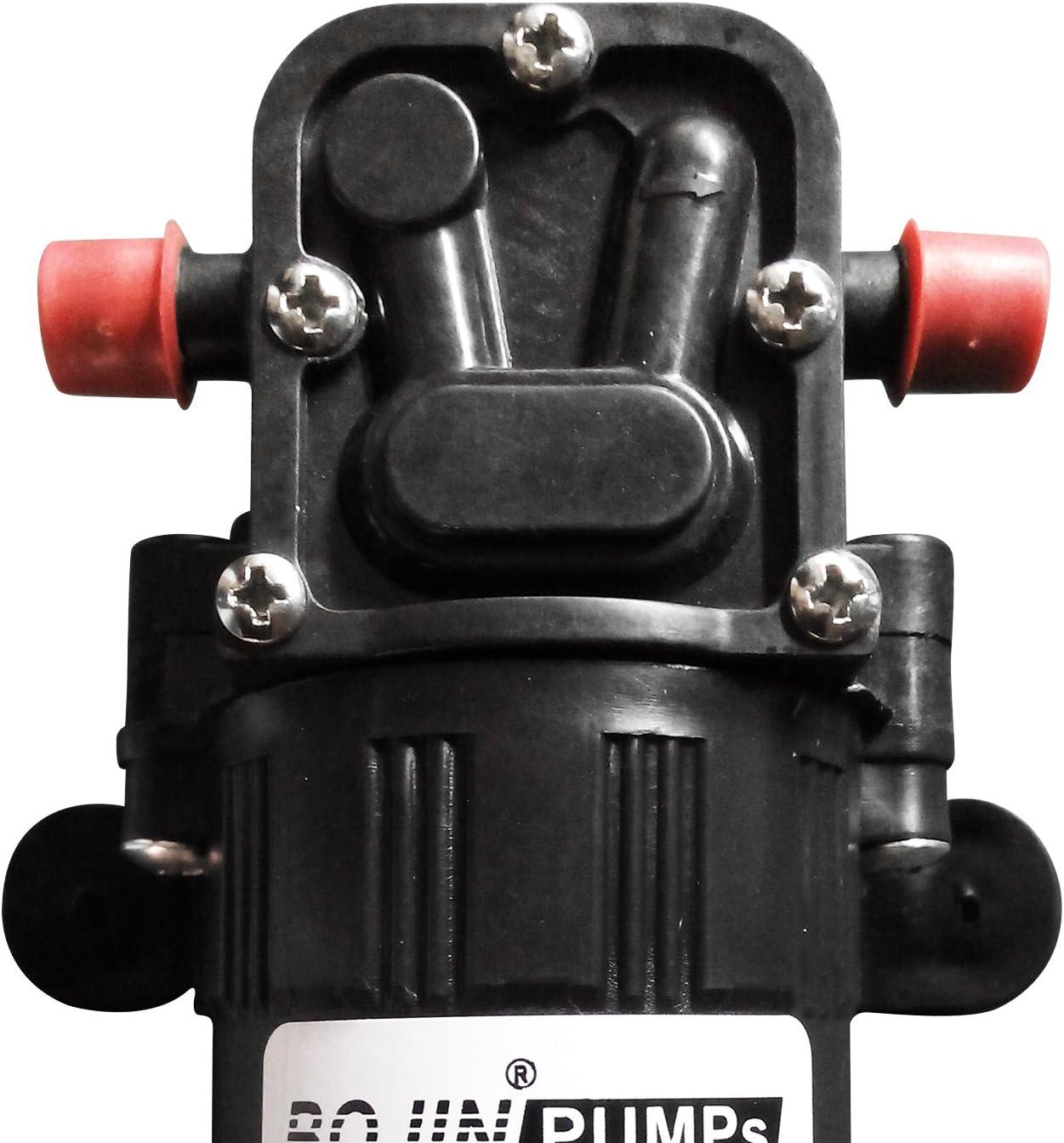 OSHL Pompe /à Eau Auto-amor/çante /à Membrane Haute Pression Caravane//Bateau VR//Jardin DC12 V 73PSI 3.5L//m
