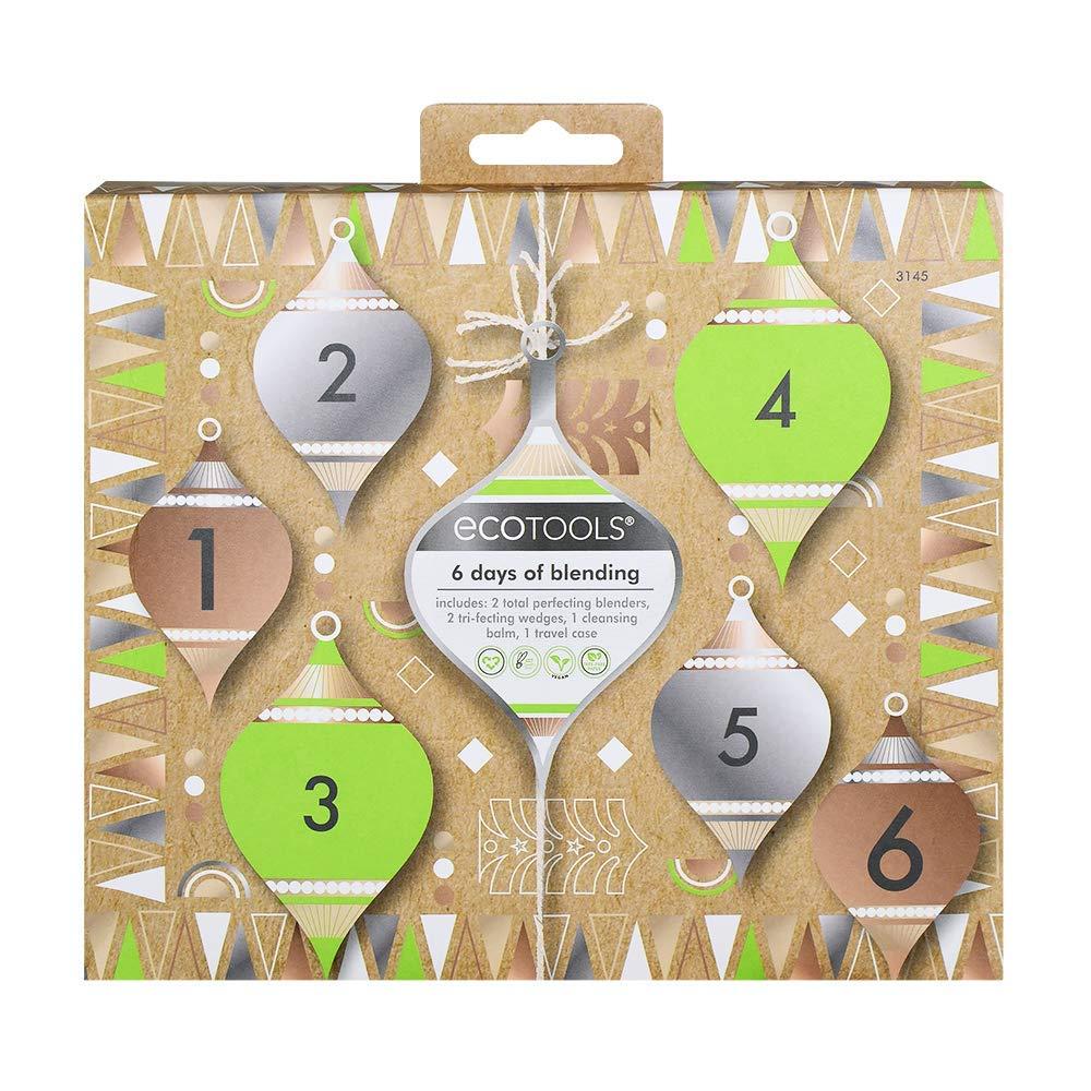 Ecotools Makeup Sponge Blender Gift Set, Limited Edition Holiday Beauty Stocking Stuffer, Set of 6